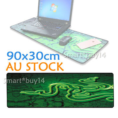 90x30cm Extra Large Laptop Computer PC Keyboard Mat Gaming Mouse Pad Anti-Slip
