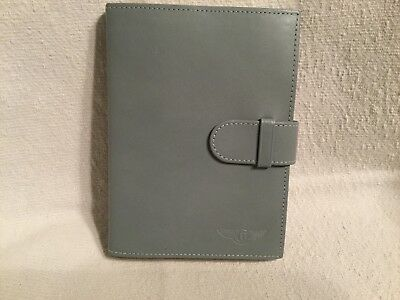 Bentley Leather Diary Book, (Refillable)With Bentley Logo.