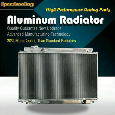 2061 3 Row Aluminum Radiator For Lexus SC300 Base L6 3.0L MT 2JZGE 97-00