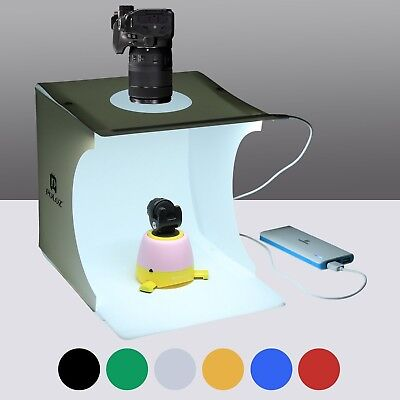 Mini Photo Studio Box, PULUZ 20cm Portable Photography Shooting light Ten... New