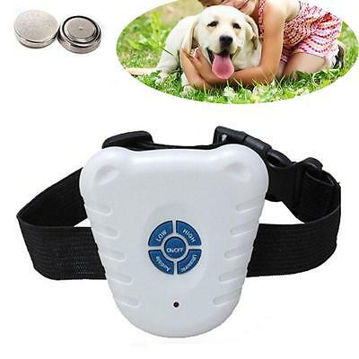 Hot Bark Stopper Advanced Dog Anti Barking Device Tone Shock Control Collar EH