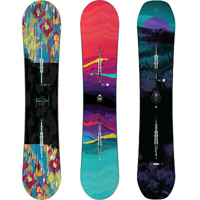 Burton Feelgood Camber Women's Snowboard All Mountain Freestyle 2016-2018 NEW