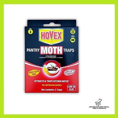 Hovex Pantry Moth Traps Pesticide Free Non-Toxic (2 Traps each pack)