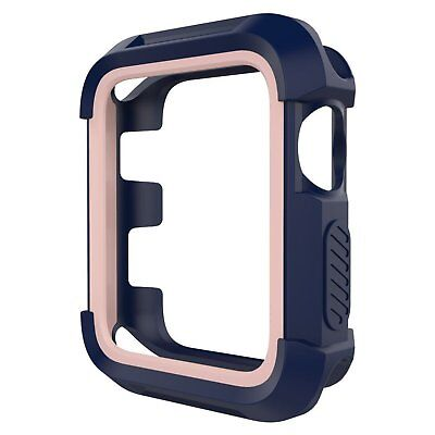 Apple Watch Case Series 3/2/1 Rugged Bumper Cover Screen Protection For 38mm NEW