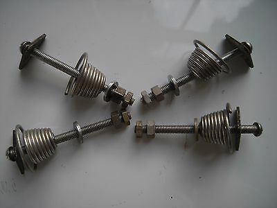 Turntable Mounting Hardware & Springs - Vintage Quality 24 Precision Components