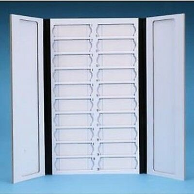 Karter Scientific 212A2 Tray for Microscope Slides, with Lid, Cardboard, ... New