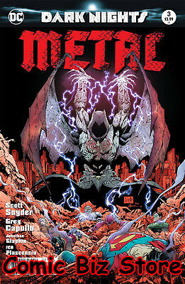 Dark Nights Metal #3 (Of 6) (2017) 2Nd Printing Bagged & Boarded Dc Batman