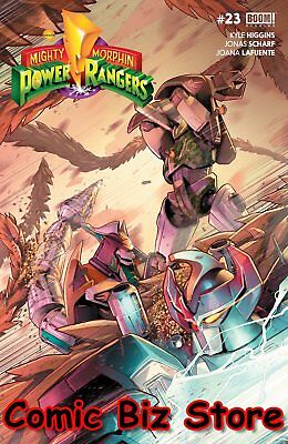 Mighty Morphin Power Rangers #23 (2018) 1St Printing Main Cover Boom