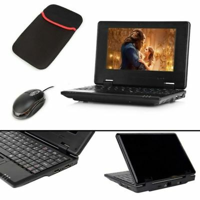"Mini Notebook Laptop 7"" 1.2ghz 4GB Storage WIFI HDMI SD Port with Mouse and Bag"