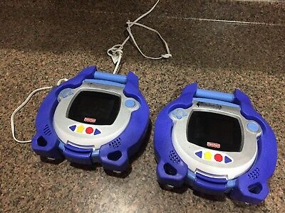 Fisher Price Kid Tough DVD Players 1 Tested Works 1 w/Error - include AC adapter