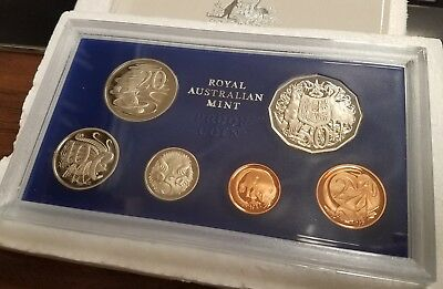 1979 Australia 6 Coin Proof Set Toning Haze