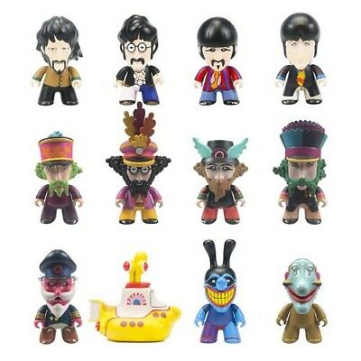 The Beatles Yellow Submarine Figures.