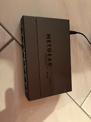Netgear GS108E-300PES 8-Port WeB Managed (Plus) Gigabit Switch ProSAFE