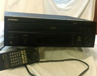 Pioneer CLD-D702 Compact Disc/Laservision Player AS-IS FOR PARTS AND REPAIR