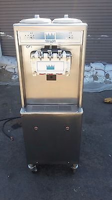 2011 Taylor 794 Soft Serve Frozen Yogurt Ice Cream Machine Warranty 3Ph Air