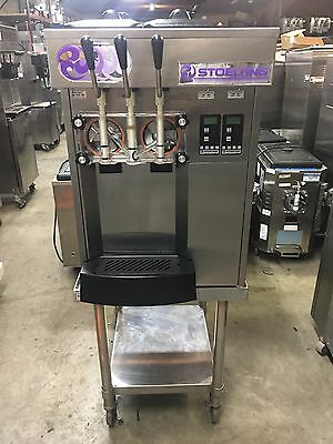 2009 Stoelting F131 Soft Serve Frozen Yogurt Ice Cream Machine Warranty 1ph Air