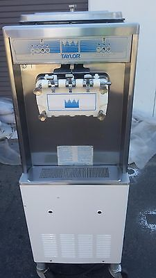 2010 Taylor 336 Soft Serve Frozen Yogurt Ice Cream Machine Warranty 1Ph Air