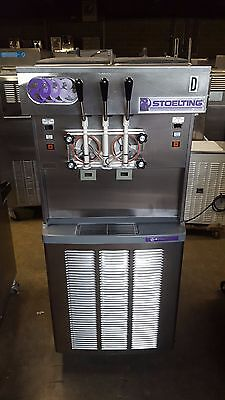 2008 Stoelting 4231 Soft Serve Frozen Yogurt Ice Cream Machine 3ph Air