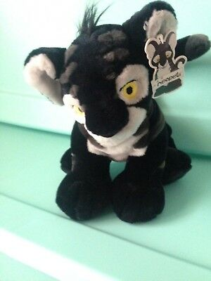 Neopets 10'' Black Shadow Kougra Tiger, Limited-Edition Plush Stuffed Toy 2003