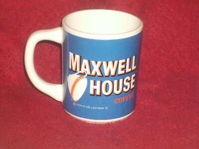 Vintage Maxwell House Coffee Cup Good to the Last Drop General Foods ~ NICE