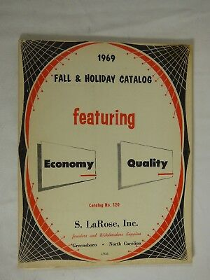 Book Vintage Clock Watch Parts Repair S. LaRose Fall & Holiday Catalog 1969