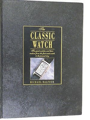 Book Vintage Clock Watch Parts Repair The Classic Watch Coffee Table Book
