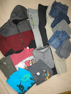 Boys Winter Clothing Jeans Pants L/S Shirts Brand Variety Lot Size 14/16