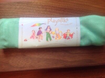 Sarah's Silk's Playsilk 35 Inch Square New In Package ~ Waldorf ~ Light Green