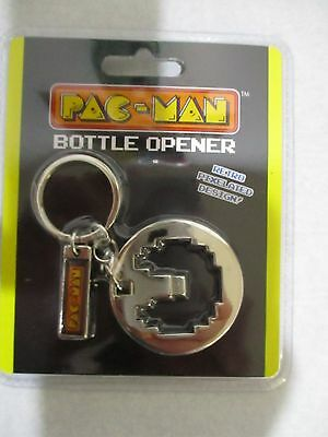 Case Of 48 Pac Man Key Chain / Bottle Openers,  New
