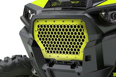 Steel Aftermarket Grille fits 2017+ Polaris RZR Turbo 1000 XP Lime Squeeze HEX