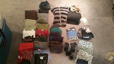Lot of Boys Clothing - Size 4 & 5 - Hannah Anderson - Free Shipping