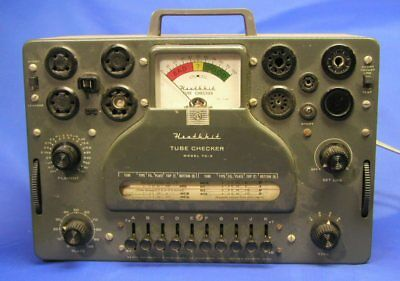 Heathkit TC-3 Tube Tester - Complete, great condition, works well!