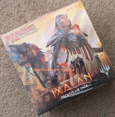Magic The Gathering Rivals Of Ixalan Prerelease Kit Pack Free Same Day Shipping