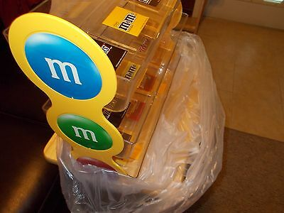 M&M Mars RARE Collectors Candy Counter Display Rack 3 -Tier Rare Collectible New