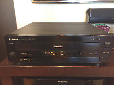 PIONEER CLD-3080 Laser Disc Player CD CDV LD Player GREAT Tested