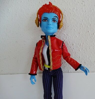 Monster High Holt Hyde First Wave Doll & Outfit, Watch, Headphones
