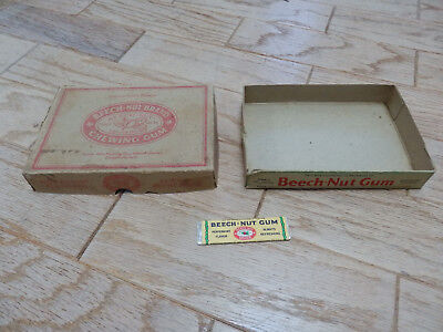 Vintage Beechnut Gum Box and One Stick of Gum