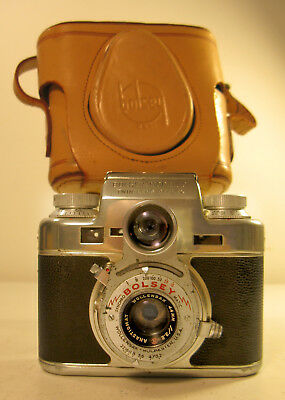 Vintage Bolsey C 35mm TLR with CRF Camera (1950-1956)