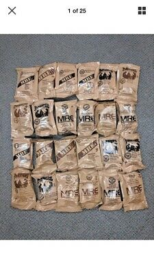 U.S. Military Surplus (1 Meal).   MRE. Inspect 2020. Free Shipping