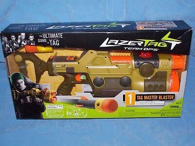 Tiger Lazer Tag Team Ops Laser Master Blaster gun new in factory sealed box