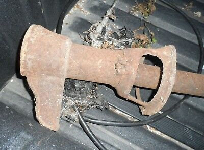 Vintage Rustic Cast Iron Water Well Pump Part