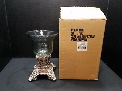 "Southern Living at Home Historic Bell Jar Candle Holder 8"" - NEW IN BOX!"