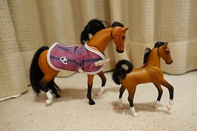 Grand Champions Horses Mare and Foal Vintage