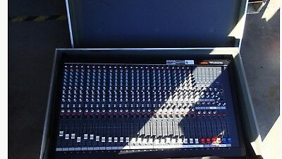 Ramsa WR-S4424 24ch Console with custom made Opti-Case