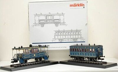 Märklin 1 Gauge 58034 Passenger Car Bavarian Court Train for 55530 Tristan NIB