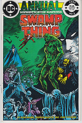 Swamp Thing Annual #2 (1985) VF/NM 1st Full App. of Justice League Dark (Moore)