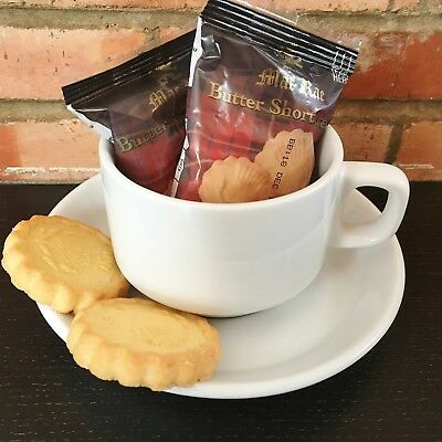 MacRae Butter Shortbread - Portion Control Biscuits - 50 packs - Air B&B, motels