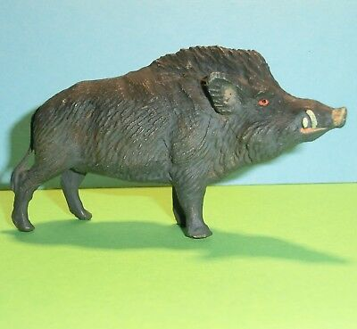 Tier - Massetier - Lineol - Elastolin - Wildschwein  - Stempel : Germany