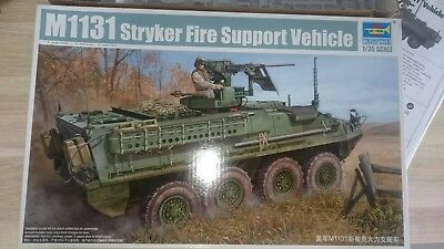 Trumpeter 00398 M1131 Stryker Fire Support Vehicle 1:35