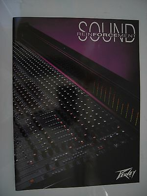PEAVEY VINTAGE AMPLIFICATION BROCHURE 68 x A4 PAGE FULLY ILLUSTRATED